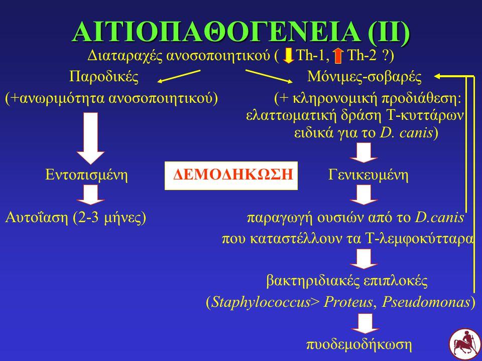Διαταραχές ανοσοποιητικού ( Th-1, Th-2 )
