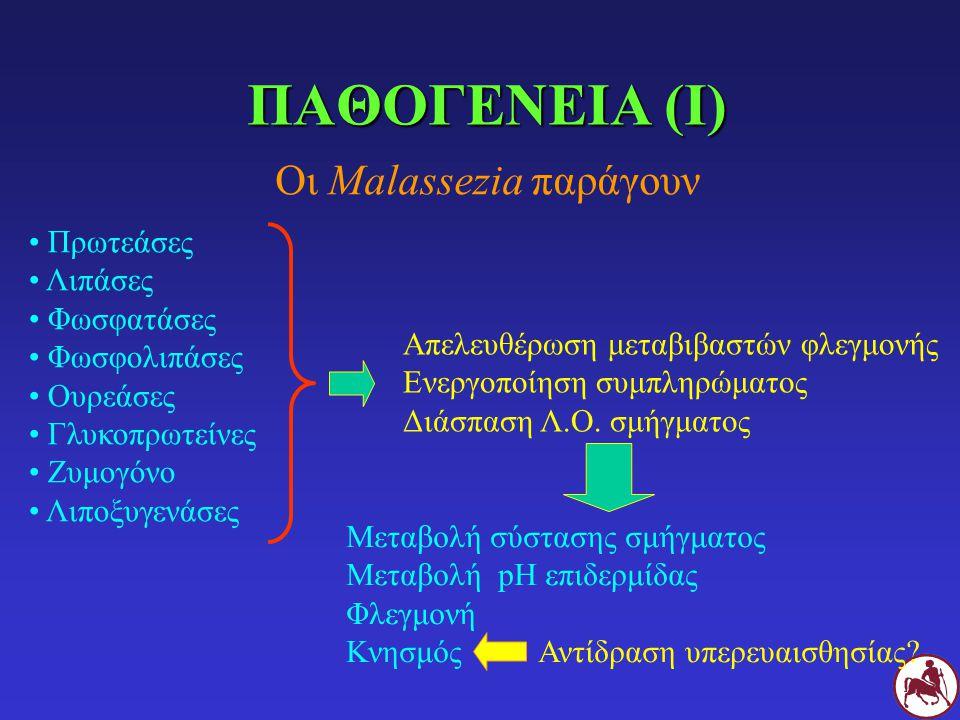 Οι Malassezia παράγουν