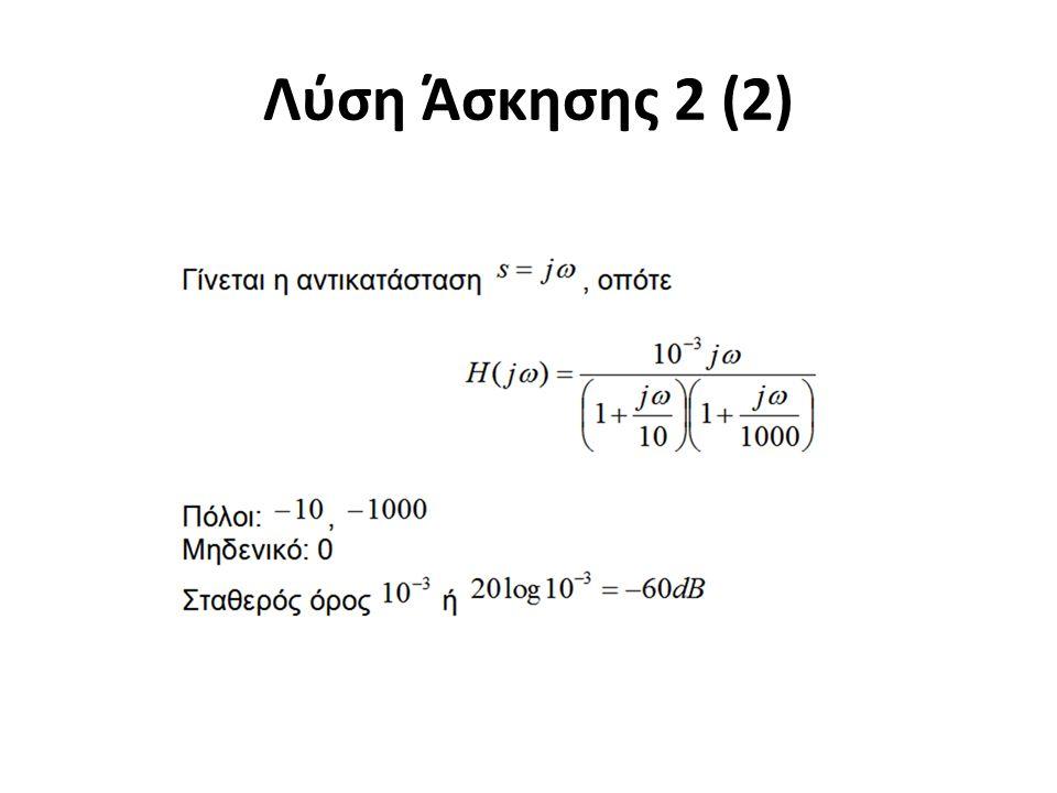 Λύση Άσκησης 2 (2)