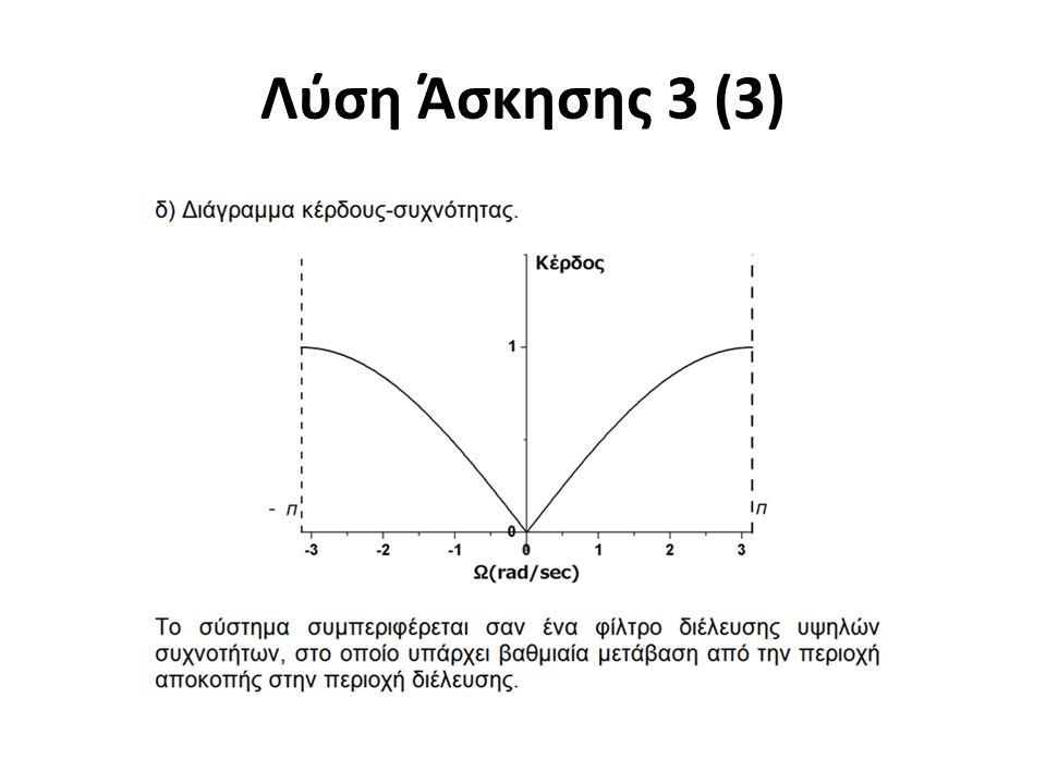 Λύση Άσκησης 3 (3)