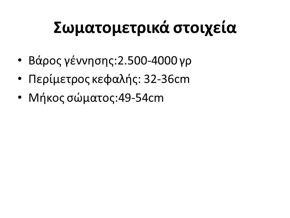 Σωματομετρικά στοιχεία