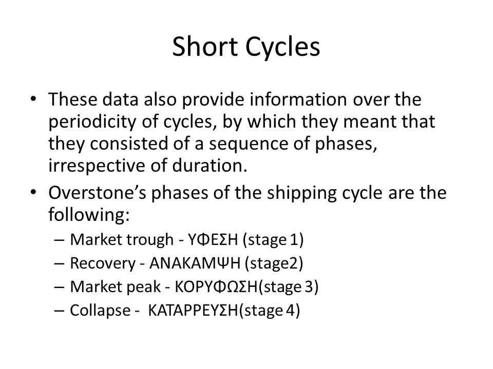 Short Cycles