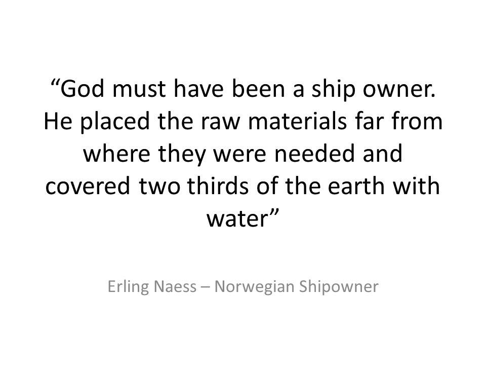 Erling Naess – Norwegian Shipowner