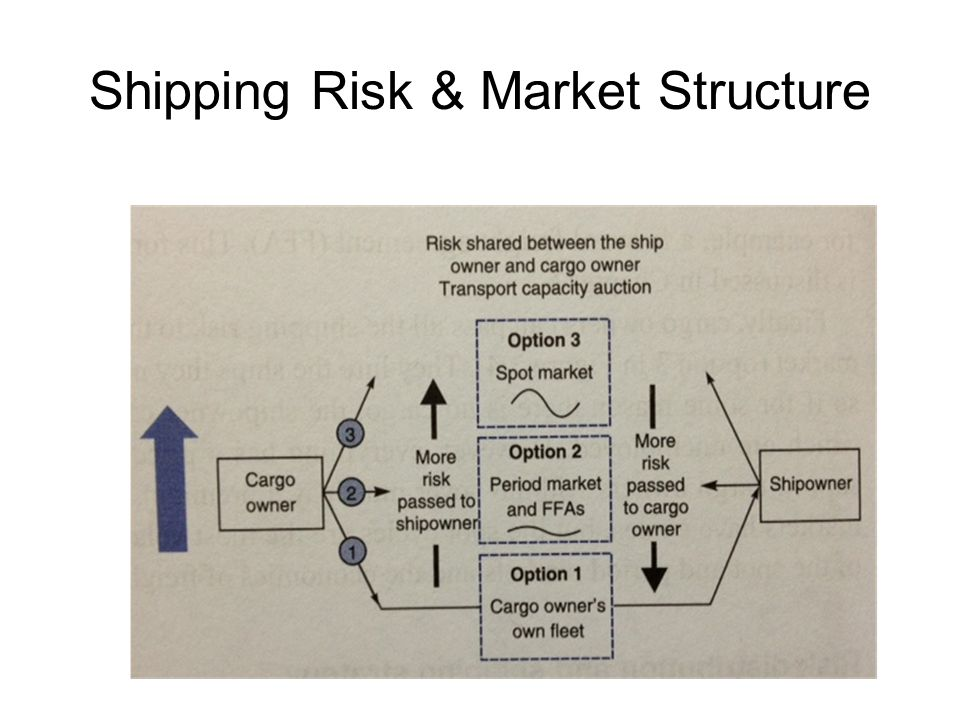Shipping Risk & Market Structure