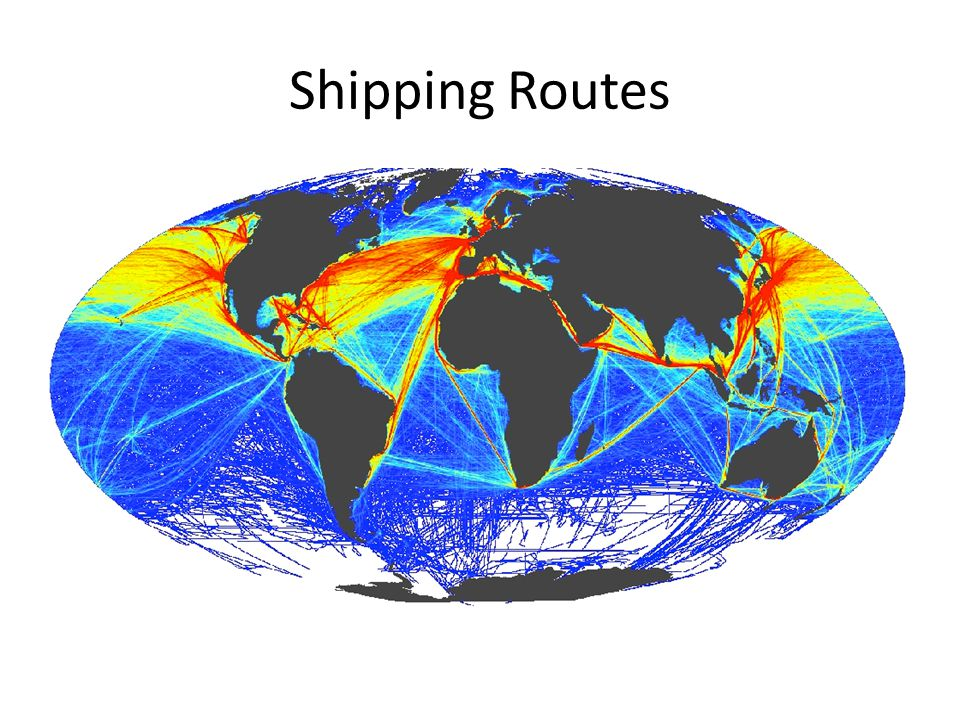 Shipping Routes