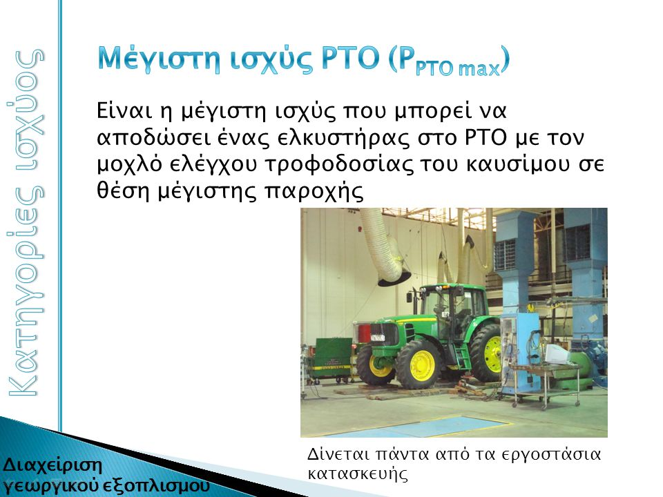 Μέγιστη ισχύς ΡΤΟ (ΡΡΤΟ max)