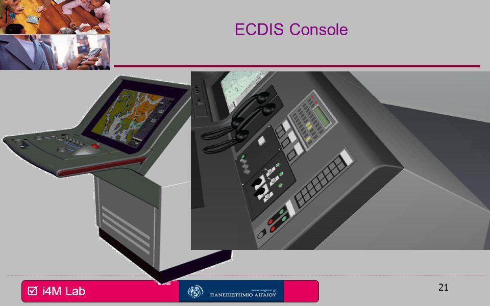 ECDIS Console Το σύστημα μπορεί να εγκαθίσταται σε αυτόνομη κονσόλα ή (κλικ)