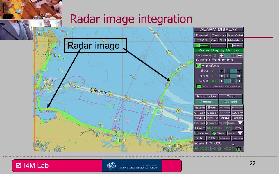 Radar image integration