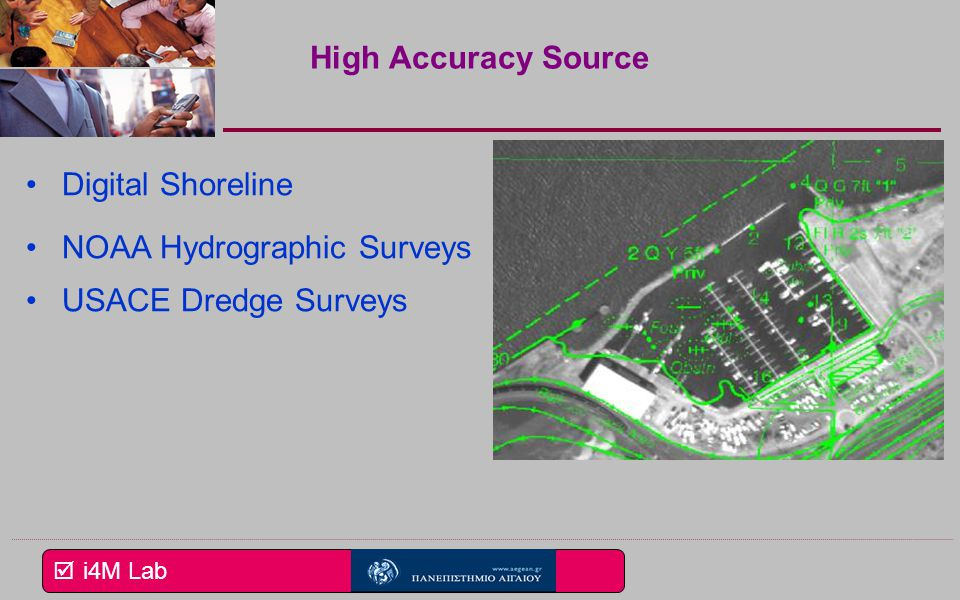 High Accuracy Source Digital Shoreline NOAA Hydrographic Surveys USACE Dredge Surveys