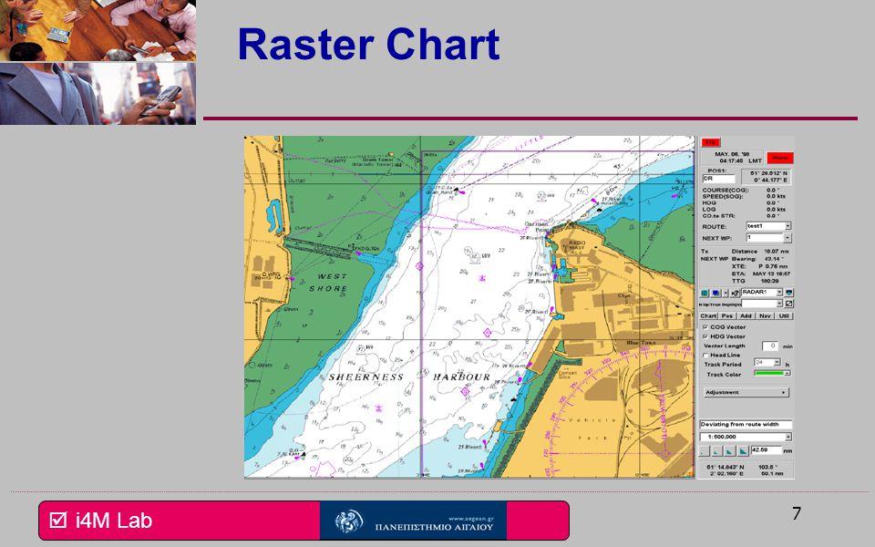 Raster Chart Εδώ βλέπουμε ένα τυπικό χάρτη Raster