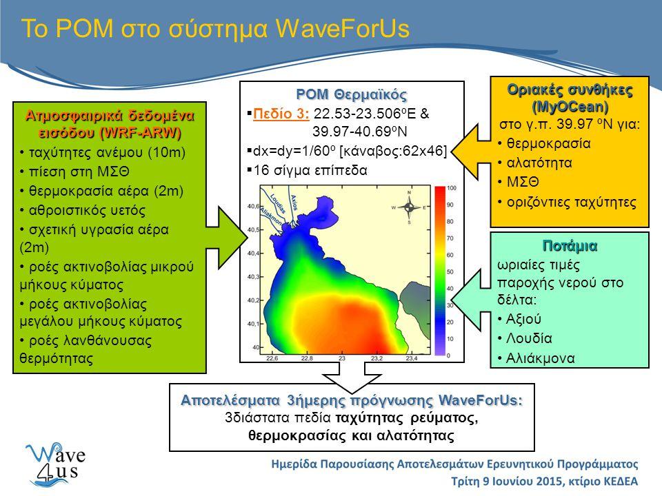 Το ΡΟΜ στο σύστημα WaveForUs