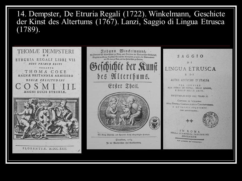 14. Dempster, De Etruria Regali (1722)