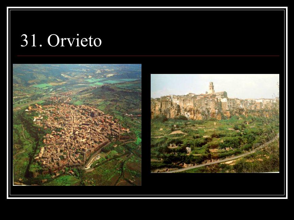 31. Orvieto
