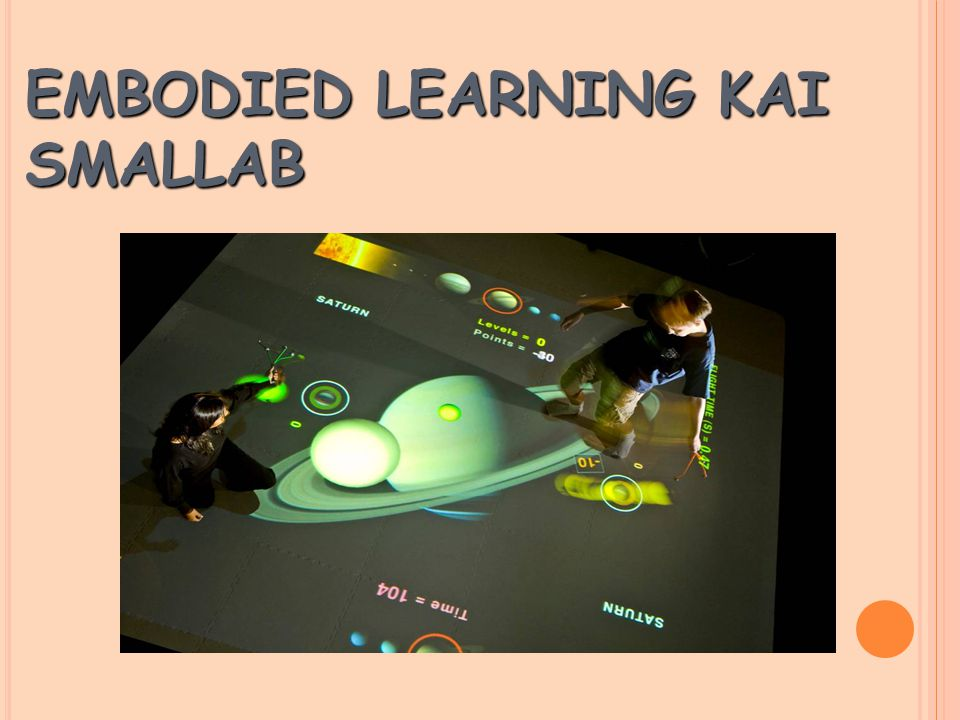 EMBODIED LEARNING ΚΑΙ SMALLAB