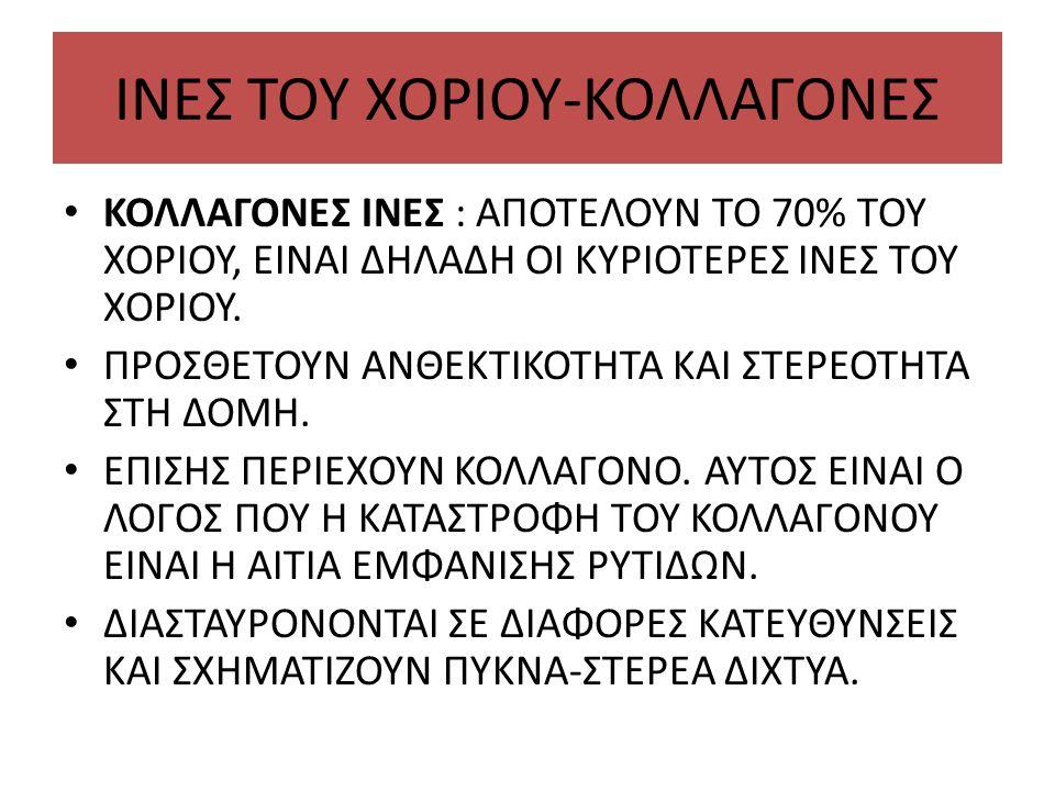 IΝΕΣ ΤΟΥ ΧΟΡΙΟΥ-ΚΟΛΛΑΓΟΝΕΣ