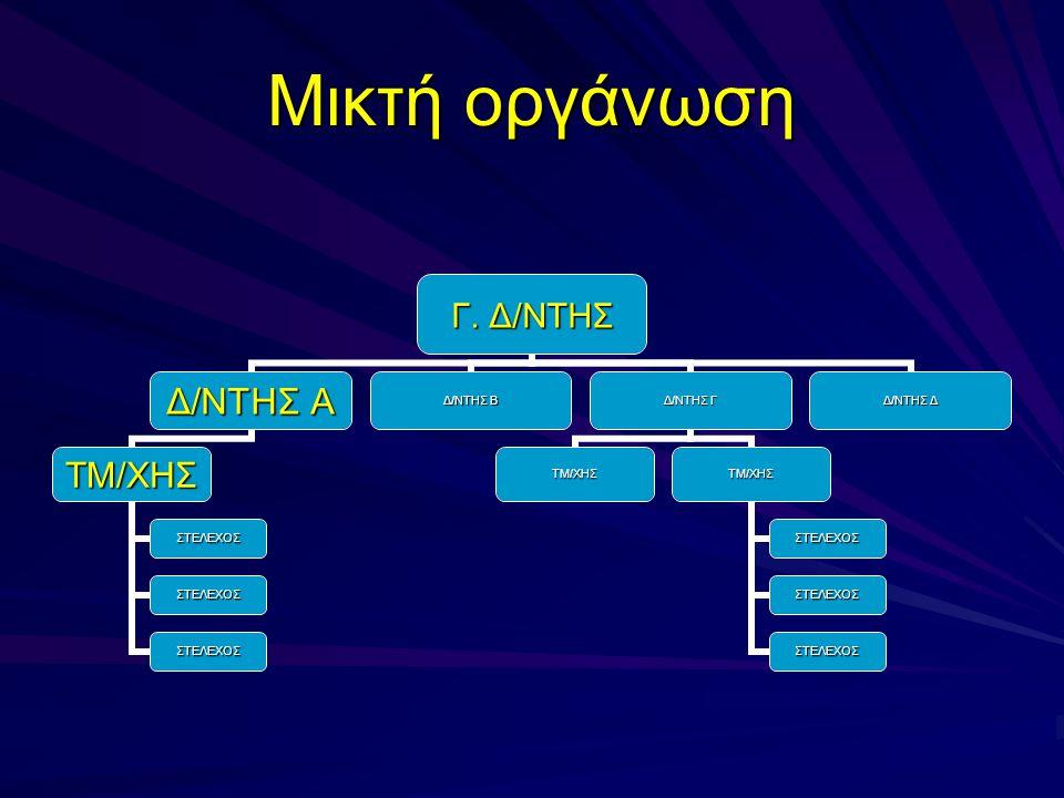 Μικτή οργάνωση