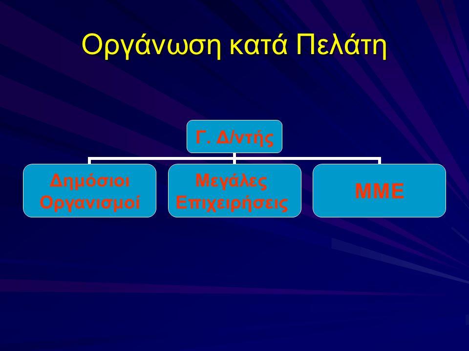 Οργάνωση κατά Πελάτη