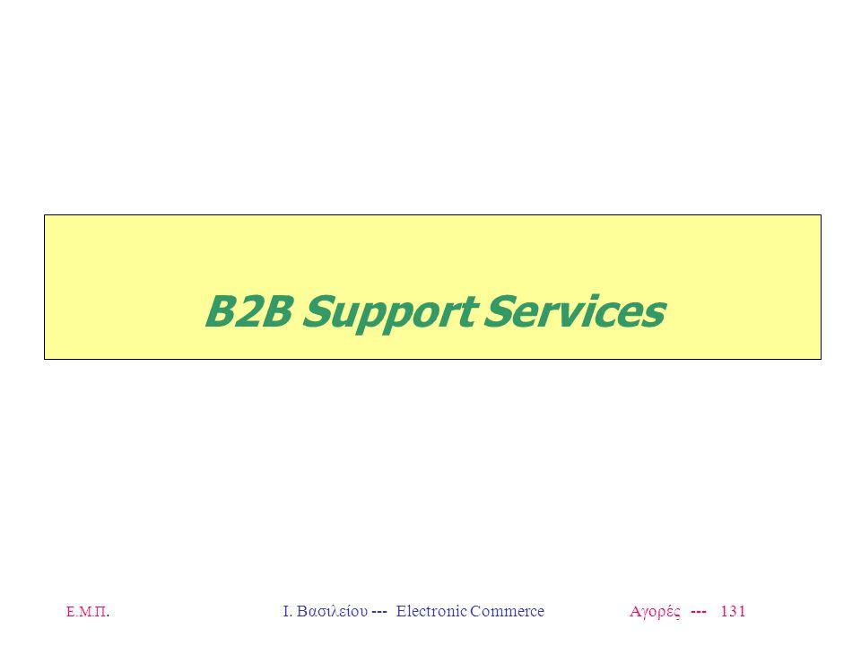 Ι. Βασιλείου --- Electronic Commerce Αγορές --- 131