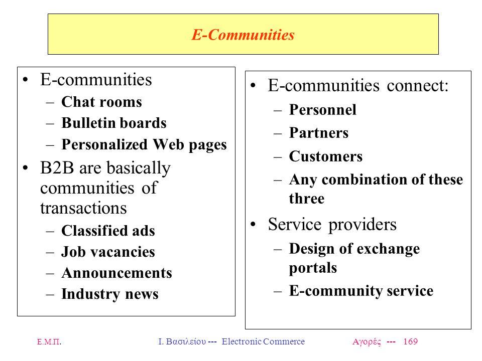 Ι. Βασιλείου --- Electronic Commerce Αγορές --- 169