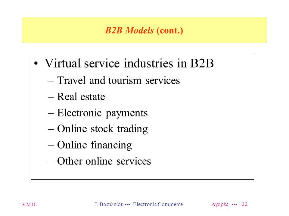 Ι. Βασιλείου --- Electronic Commerce Αγορές --- 22