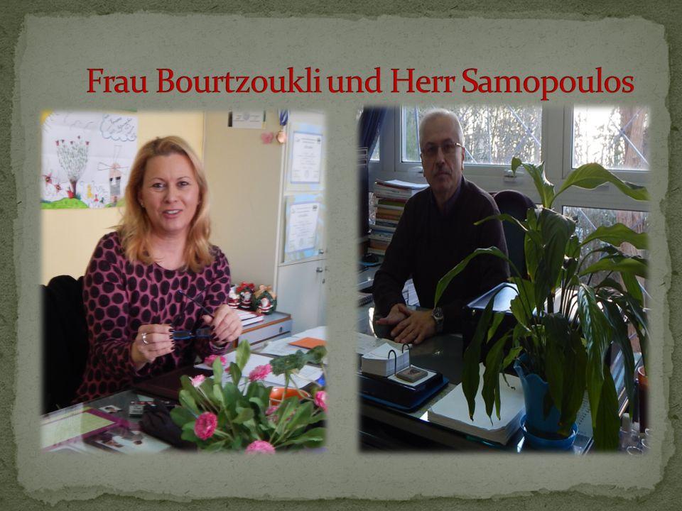 Frau Bourtzoukli und Herr Samopoulos