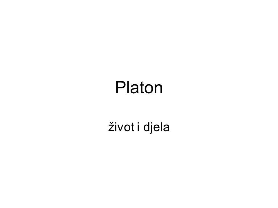Platon život i djela