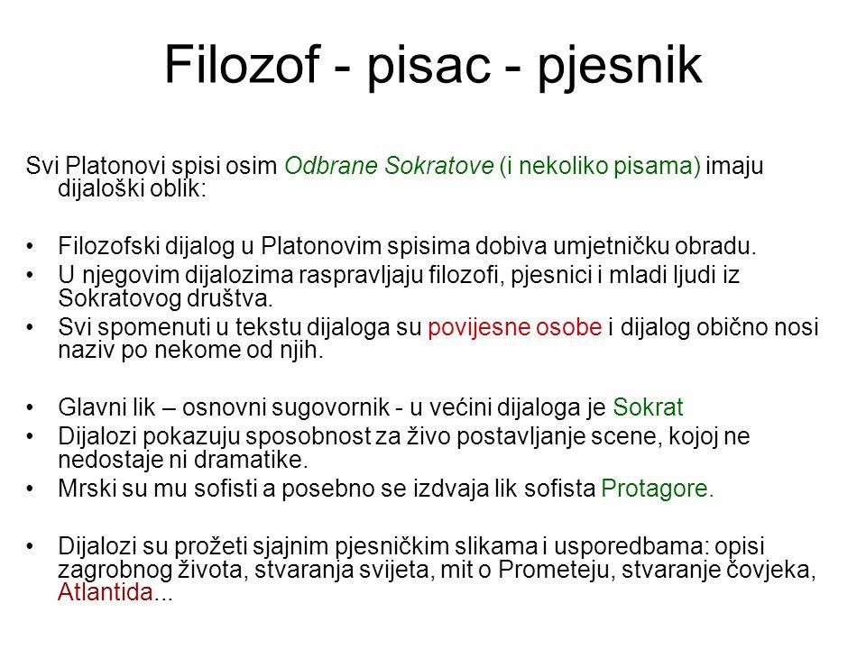 Filozof - pisac - pjesnik