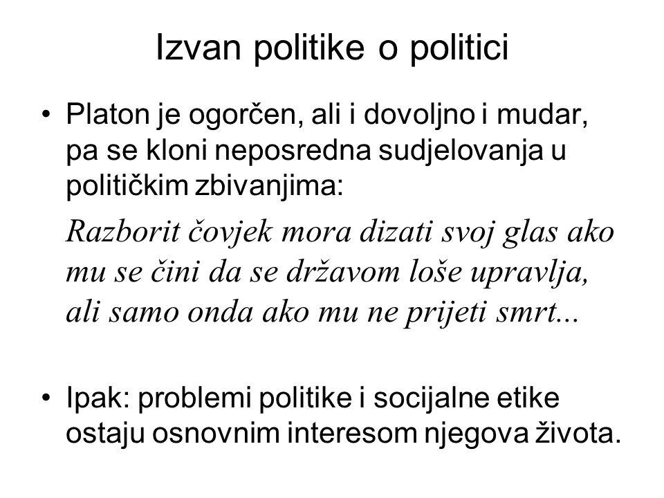 Izvan politike o politici