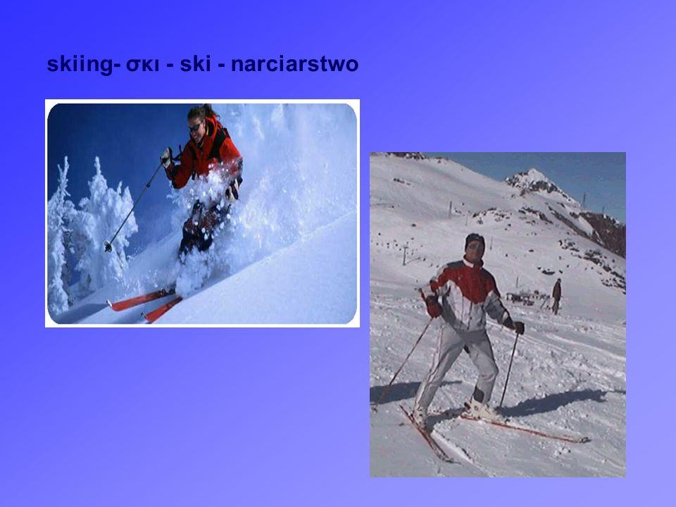 skiing- σκι - ski - narciarstwo