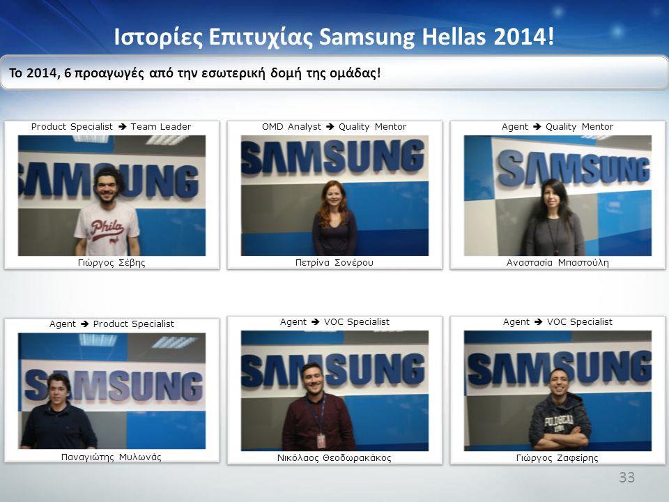 Ιστορίες Επιτυχίας Samsung Hellas 2014!