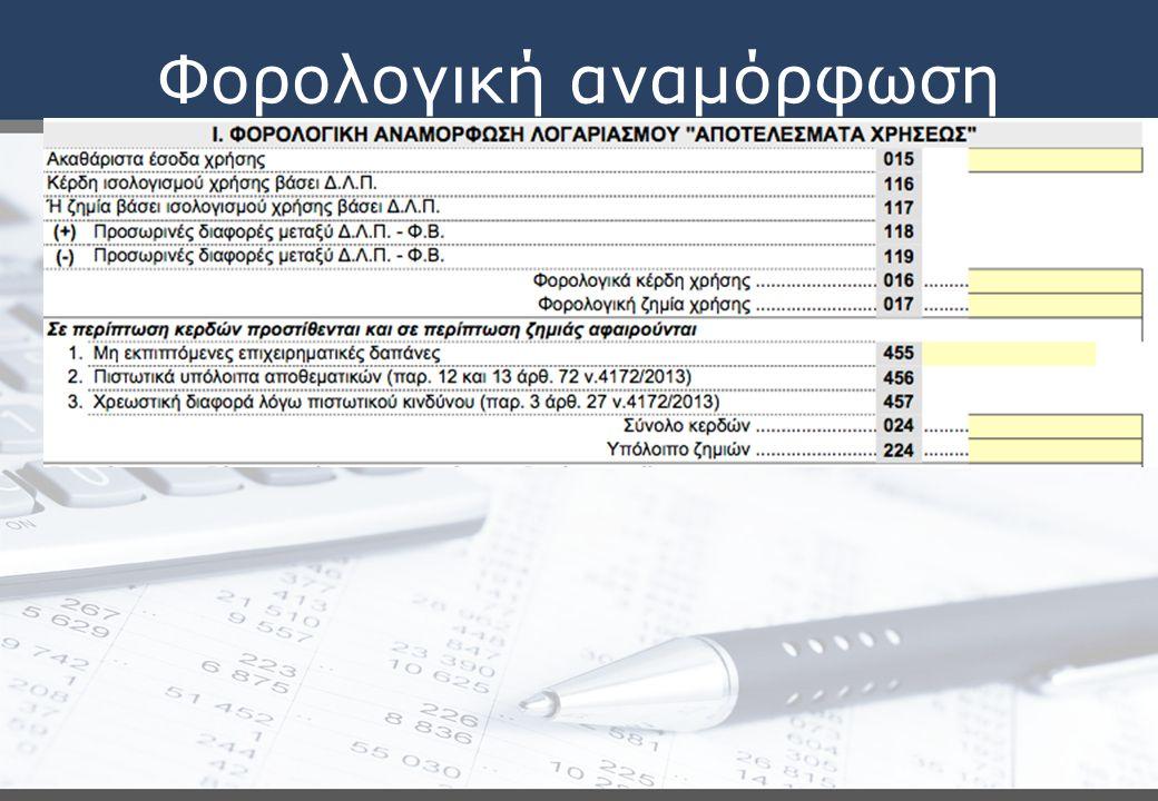 Φορολογική αναμόρφωση