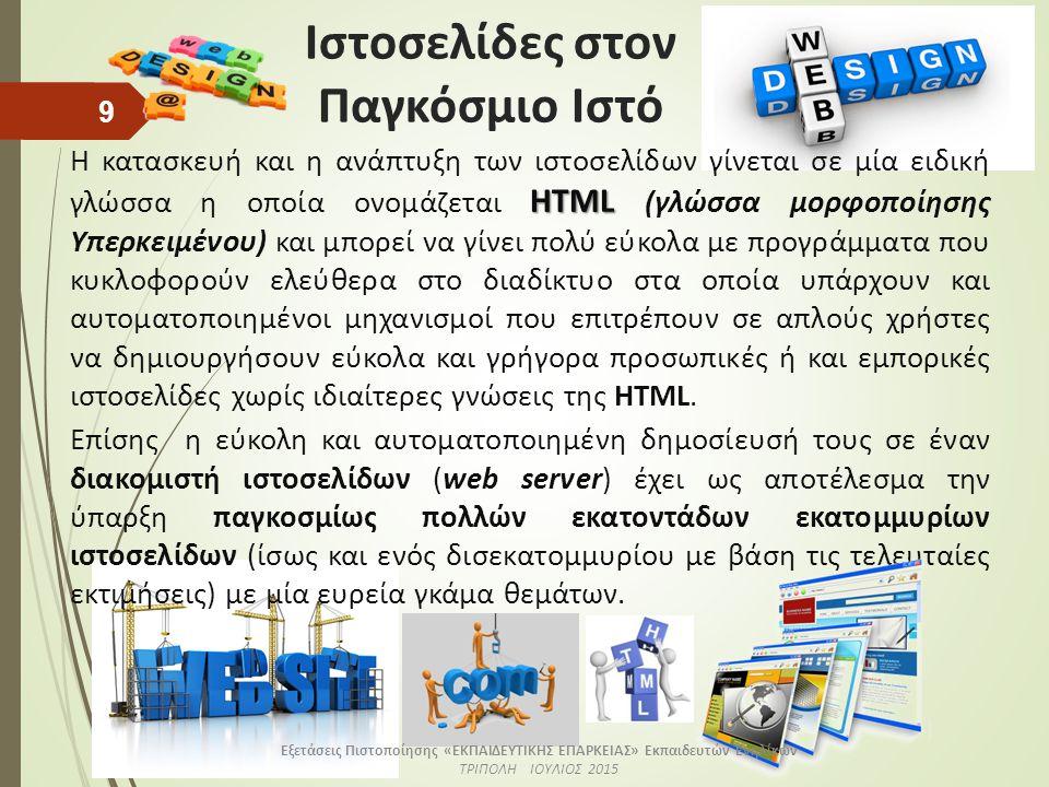 Δικτυακός τόπος (Web Site)