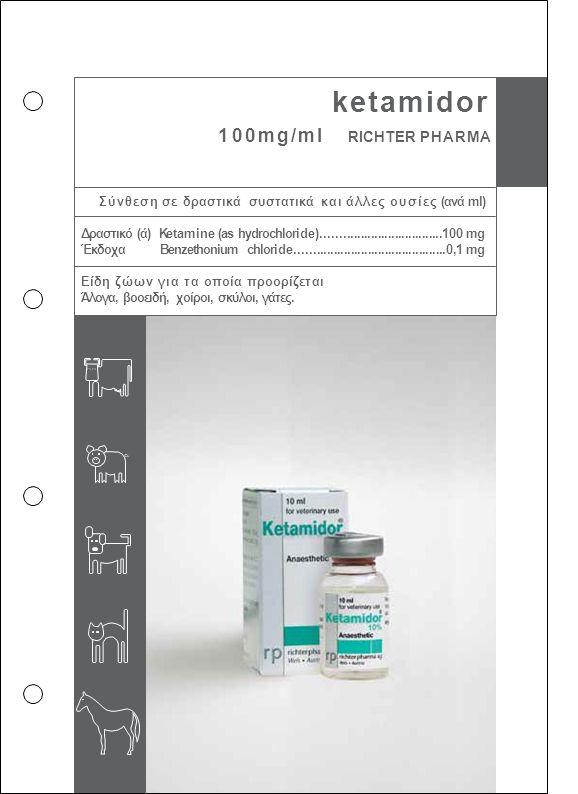 ketamidor 100mg/ml RICHTER PHARMA