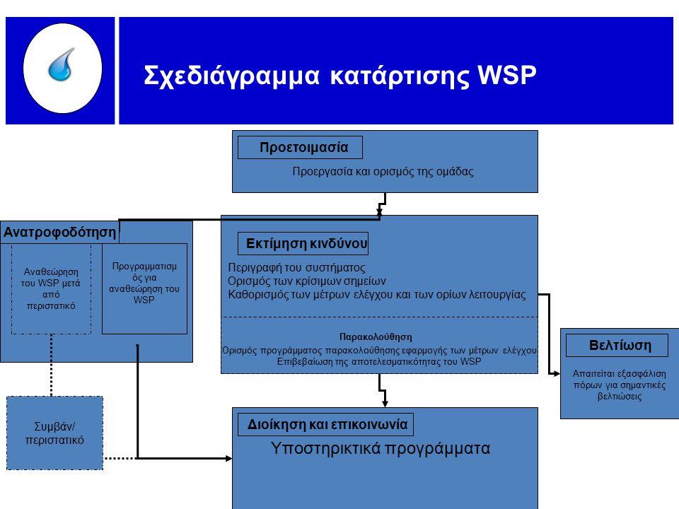 Σχεδιάγραμμα κατάρτισης WSP