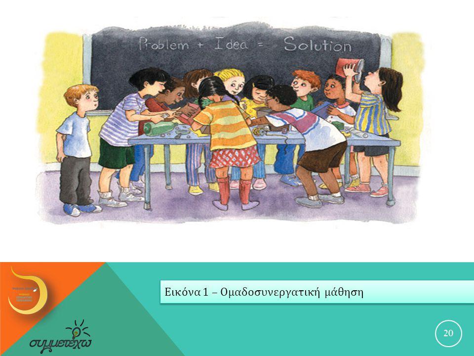 Εικόνα 1 – Ομαδοσυνεργατική μάθηση