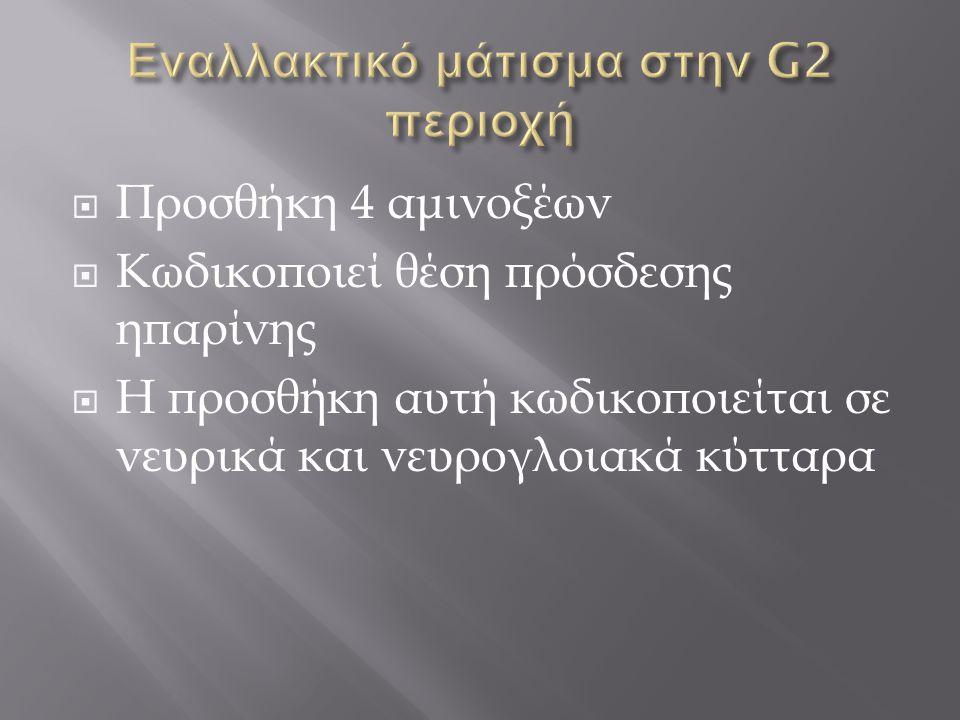 Εναλλακτικό μάτισμα στην G2 περιοχή