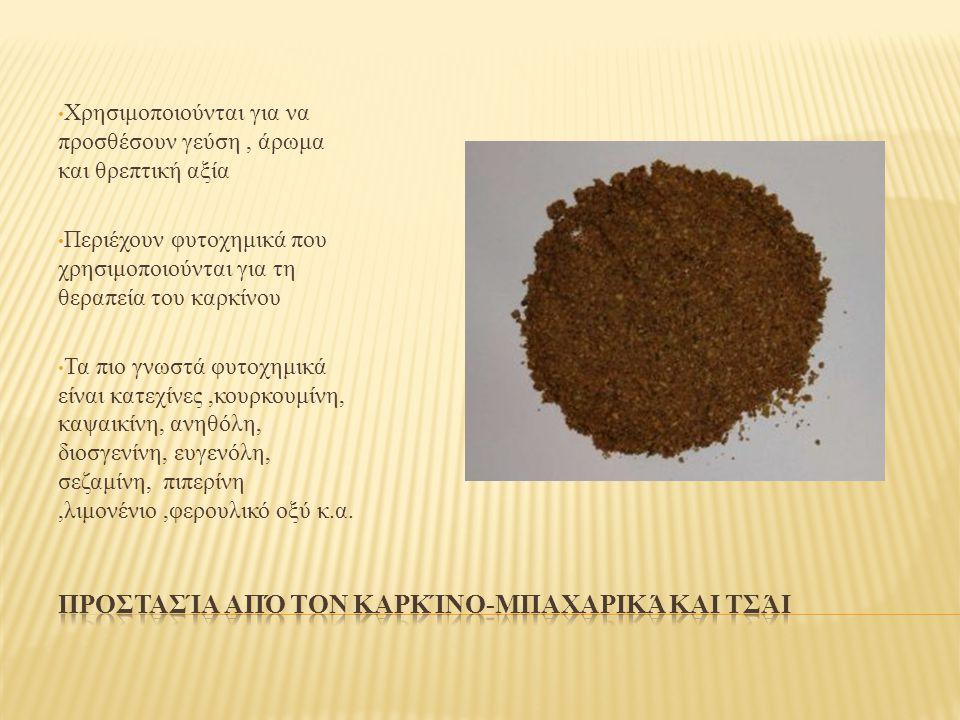 Προστασία από τον καρκίνο-μπαχαρικά και τσάι