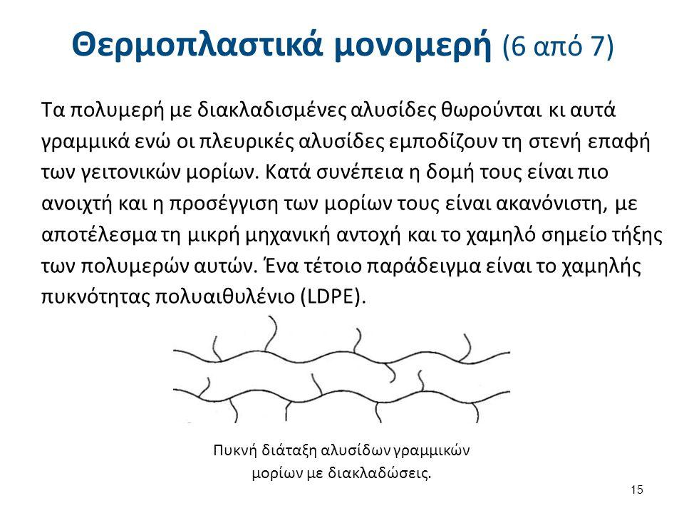 Θερμοπλαστικά μονομερή (7 από 7)