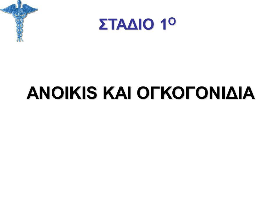 ANOIKIS KAI ΟΓΚΟΓΟΝΙΔΙΑ