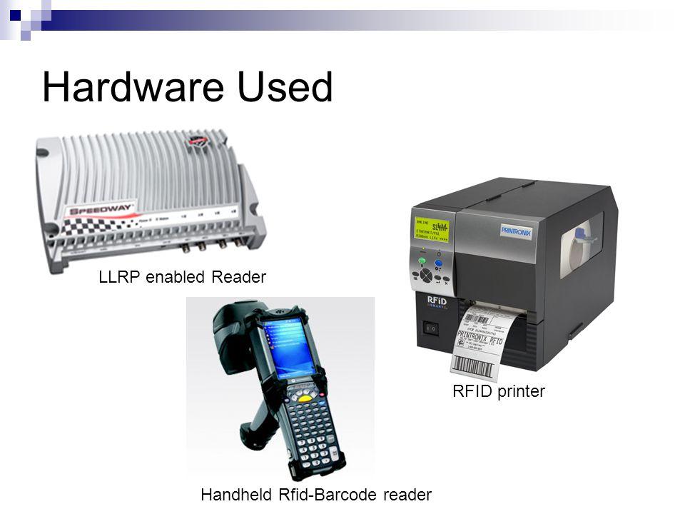 Handheld Rfid-Barcode reader