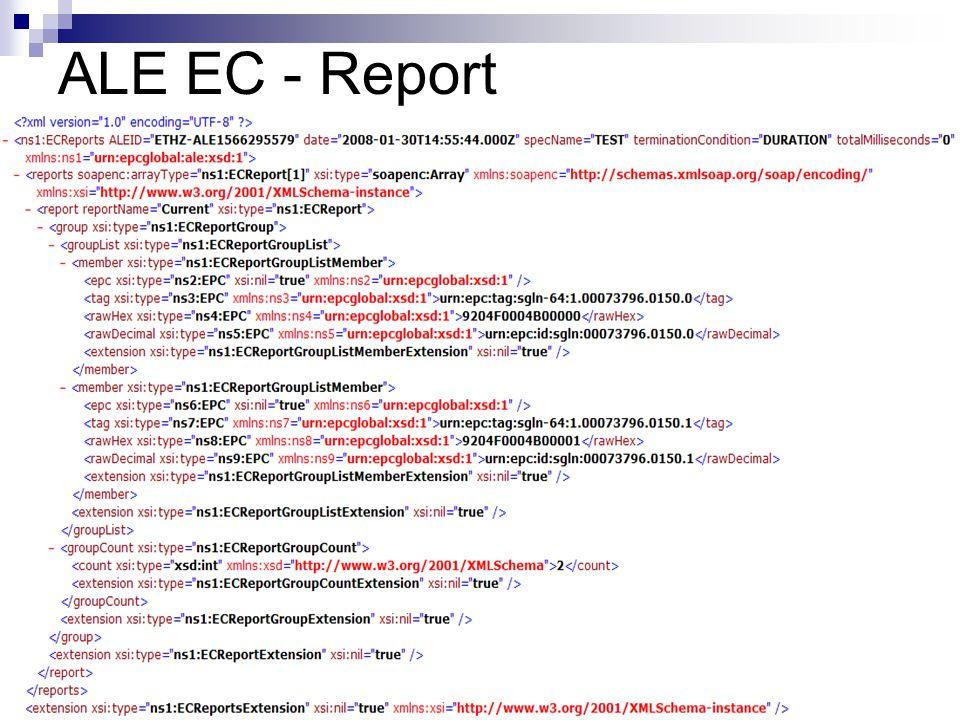 ALE EC - Report
