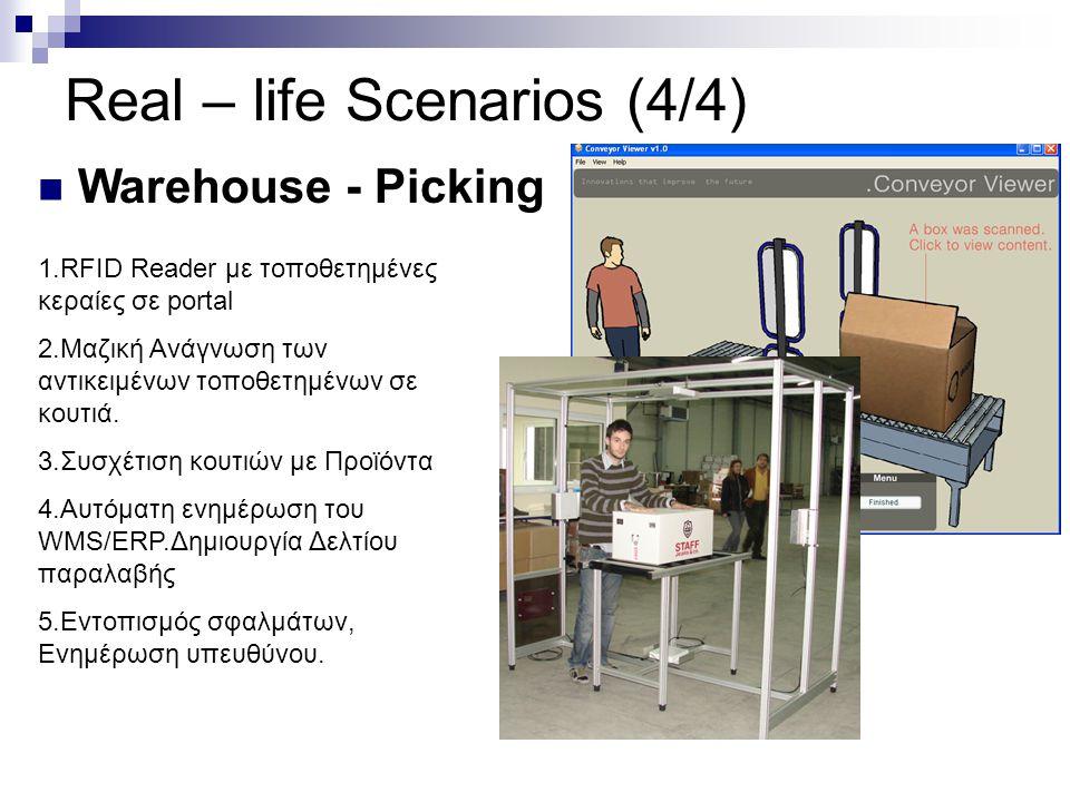 Real – life Scenarios (4/4)