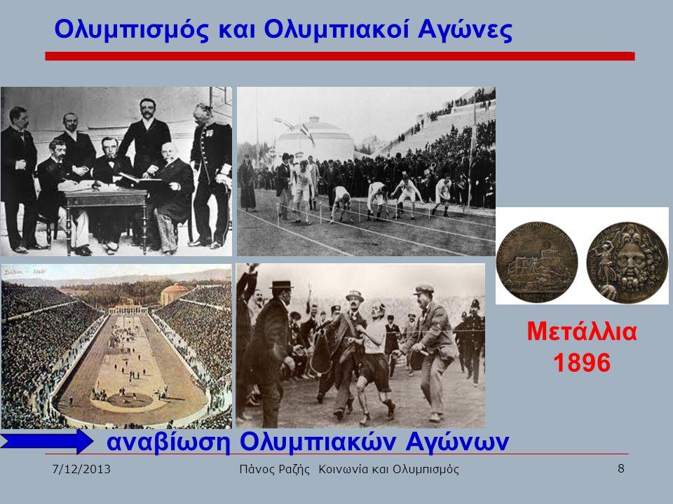 Ολυμπισμός και Ολυμπιακοί Αγώνες