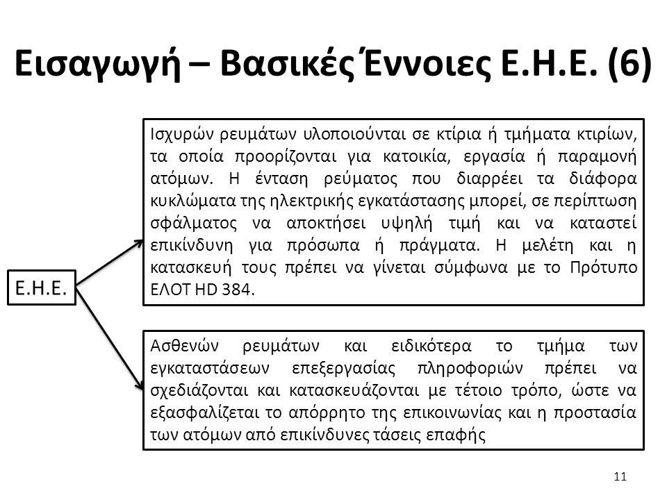 Εισαγωγή – Βασικές Έννοιες Ε.Η.Ε. (6)
