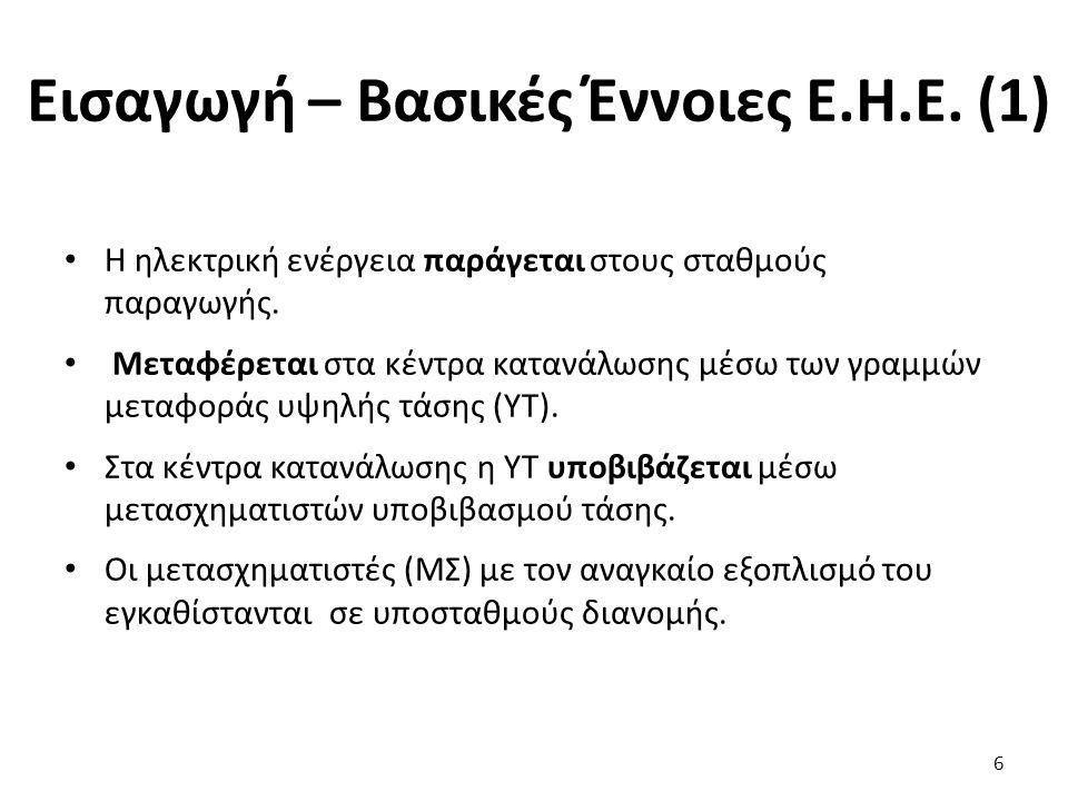 Εισαγωγή – Βασικές Έννοιες Ε.Η.Ε. (1)