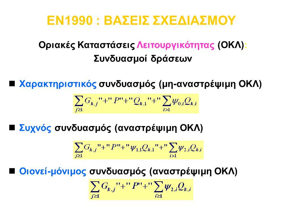 Οριακές Καταστάσεις Λειτουργικότητας (ΟΚΛ):