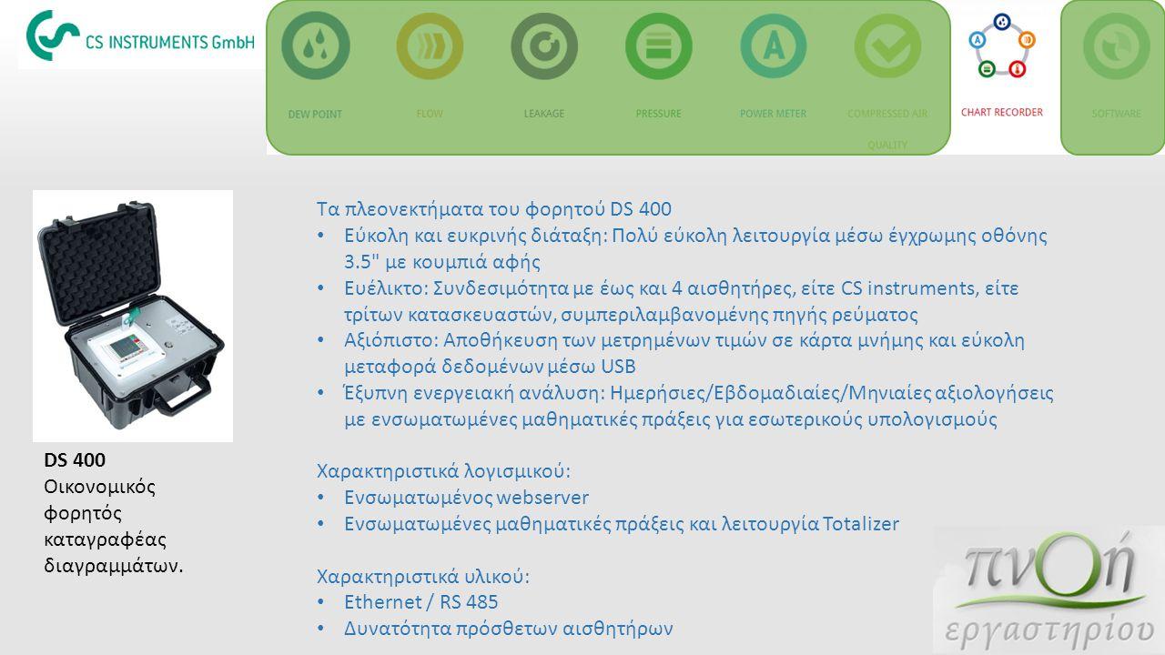Τα πλεονεκτήματα του φορητού DS 400