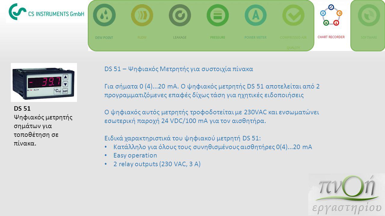 DS 51 – Ψηφιακός Μετρητής για συστοιχία πίνακα