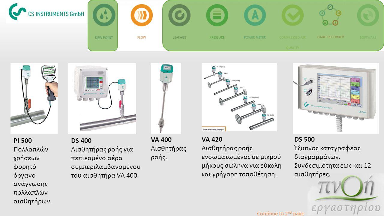 Πολλαπλών χρήσεων φορητό όργανο ανάγνωσης πολλαπλών αισθητήρων. DS 400