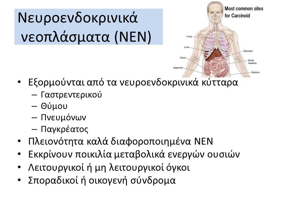 Νευροενδοκρινικά νεοπλάσματα (ΝΕΝ)